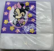 BEV NAPKINS MINNIE MOUSE 16 CT