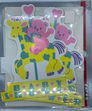 INVITATIONS BABY MERRY-GO-ROUND 8 CT