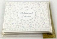 INVITATIONS REHEARSAL DINNER 8 CT (33778)