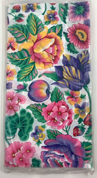 TABLECOVER SUMMER BLOOMS (PAPER)