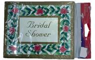 INVITATIONS BRIDAL SHOWER ROSE TRELLIS 25 CT