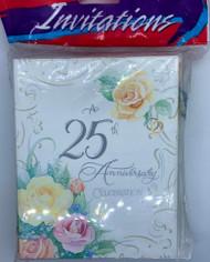 INVITATIONS LOVE ETERNAL 25TH ANNIVERSARY