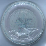 PLATES 7 PRIMROSE & RIBBON 10 CT