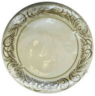PLATES 7 IN. IVORY GOLDEN HARVEST 25 CT