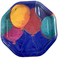 PLATES 10 BALLOON BRITES 18 CT