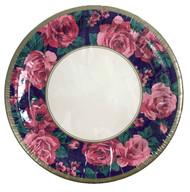 "PLATES 8"" MERRY BOUQUET 18 CT"