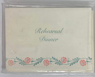 INVITATIONS REHEARSAL DINNER 10 CT