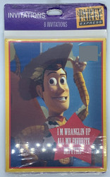 INVITATIONS TOY STORY 8 CT