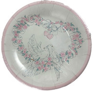 PLATES 9 PINK DOVE 25 CT