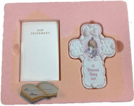 PM BABY GIRL BIBLE AND CROSS