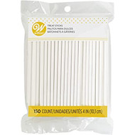 LOLLIPOP STICKS 4 IN. 150 CT
