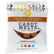 CANDY MELTS SALTED CARAMEL 8 OZ.