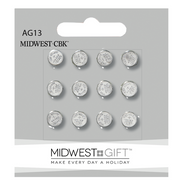 BATTERIES AG13/LR44 ALKALINE BUTTON  12  CT