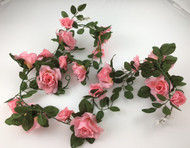 GARLAND ROSE OPEN PINK 6'