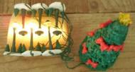 PINE HALLOW LAMPOST SET AND TREE