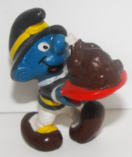 SMURF FIGURINE THANKSGIVING BOY