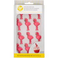 ICING DECO FLAMINGOS 12 CT