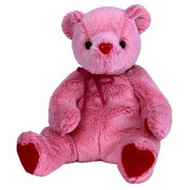 BB ROMANCE BEAR PINK/RED
