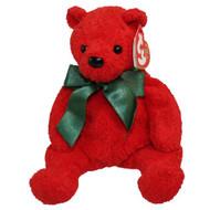 BB MISTLETOE BEAR RED