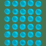 EDIBLE GEMS BLUE ISOMALT .3 OZ