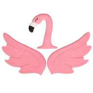 CAKE MAKER EDIBLE ICING FLAMINGO 4.5 IN.