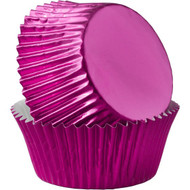 BAKING CUPS PINK FOIL 24 CT