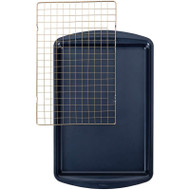 COOKIE PAN AND GRILL 11 x 17 x 1 in. NAVY NS