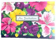 INVITATIONS STARGAZER LILY 8 COUNT