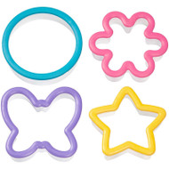 COOKIE CUTTER  GRIPPY SET 4 PC