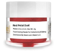 LUSTER DUST GLITTER AMERICAN RED 4 GRAMS