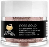 BREW GLITTER ROSE GOLD 4G