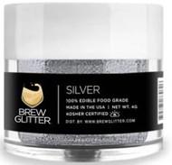 BREW GLITTER SILVER 4G