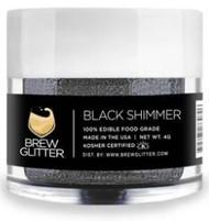 BREW GLITTER BLACK 4G