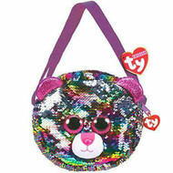 TY CAT PURSE FLIPPABLE  MULTI