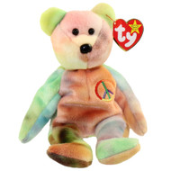 BB PEACE BEAR TY-DIED