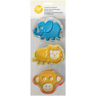 COOKIE CUTTERS SAFARI ANIMALS SET 3 COUNT
