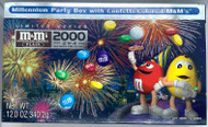 M & M's CELEBRATE 2000 MILLENNIUM PARTY BOX