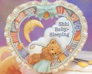 CT911755 SHH! BABY SLEEPING DOOR SIGN