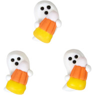 ICING DECO GHOST W/ CANDY CORN