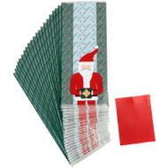 PARTY TREAT BAGS SANTA 20 COUNT