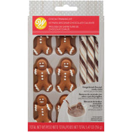 COCOA TRIMMING KIT GINGERBEAD BOY 6 CT