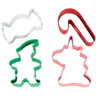 COOKIE CUTTER SET WINTER CANDY LAND 4 PC