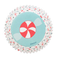 BAKING CUPS CANDY SWIRL 75 CT