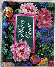INVITATIONS ASHLEY'S FLORAL 8 COUNT