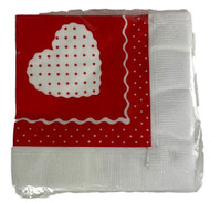 BEV NAPKINS SWEETHEART 30 COUNT