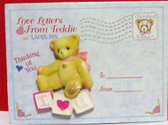 CT203122 LAPEL PIN LOVE LETTERS FROM TEDDY