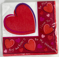 BEV NAPKINS SWEET HEARTS
