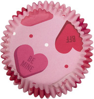 "BAKING CUPS HEARTS 75 ""CT"