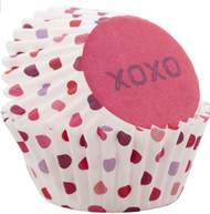 BAKING CUPS MINI XOXO 100 CT