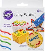 ICING WRITER TUBE 4 PC SET
